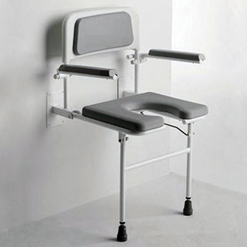 Contemporary Shower Seats Disabled Embellishment - Bathroom with ...